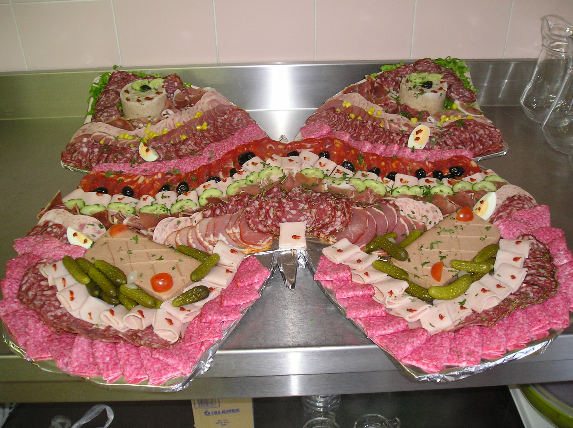 Les photos de buffet froid - Idee presentation buffet froid ...